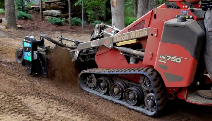 Mini-Skid Steer Tracks Ditchwitch – Valley Equipment Rental
