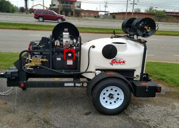 Tow Pressure Washer